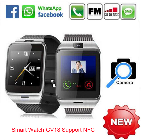 Smart Watch Aplus GV18 Clock Sync Notifier Support Sim Card Bluetooth Connectivity Apple iphone Android Phone