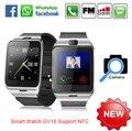 Smart watch aplus gv18 relógio notificador de sincronização suporte sim card conectividade bluetooth apple iphone android relógio telefone smartwatch