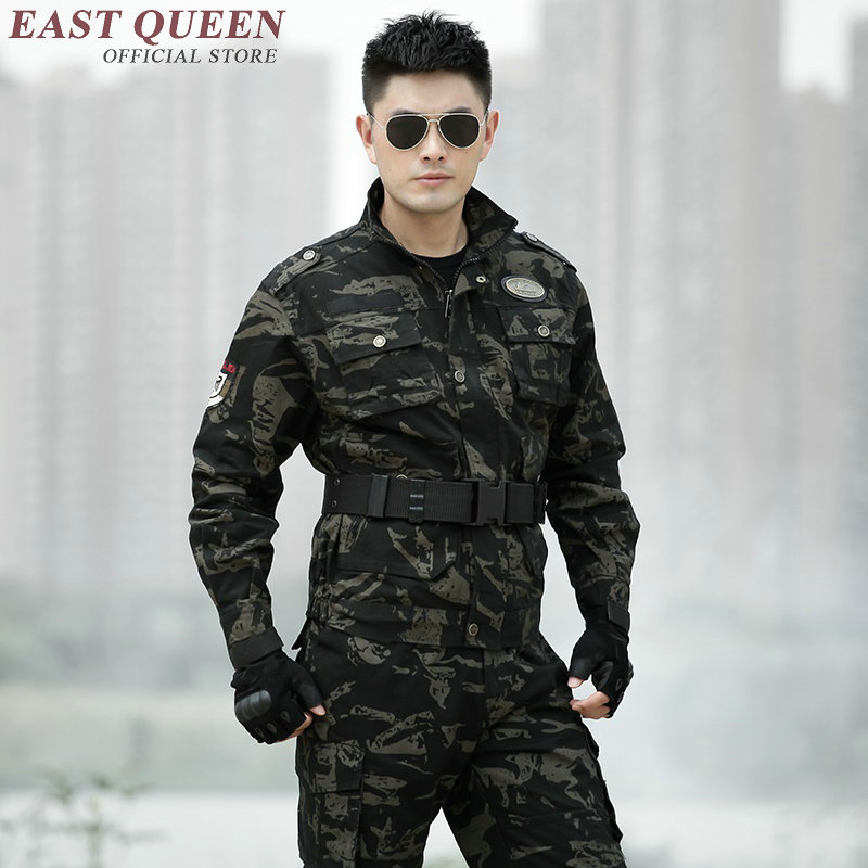 American military uniform men special forces uniforms military uniform camouflage camouflage suits camouflage clothing AA2401 Y image
