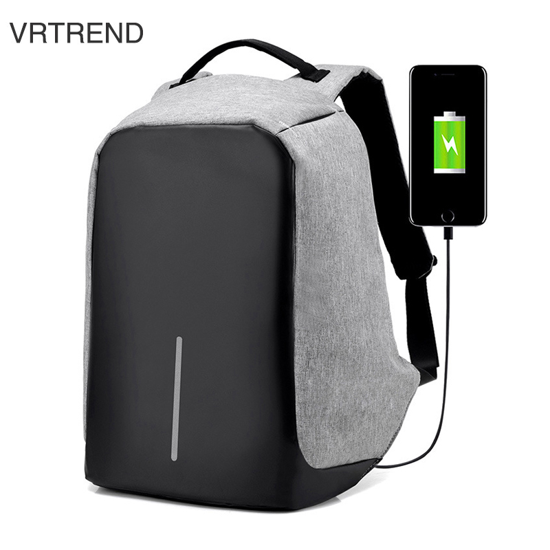 New Multi Functional Men Travel Security Backpack Casual Laptop Backpack Computer Bag College Men Business Backbag