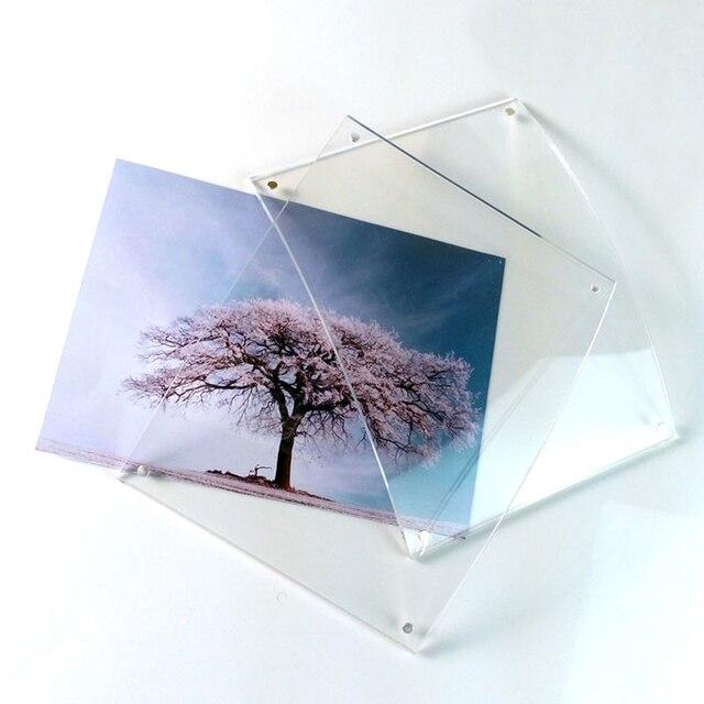 Cadres Photo magnétiques acryliques 5x7
