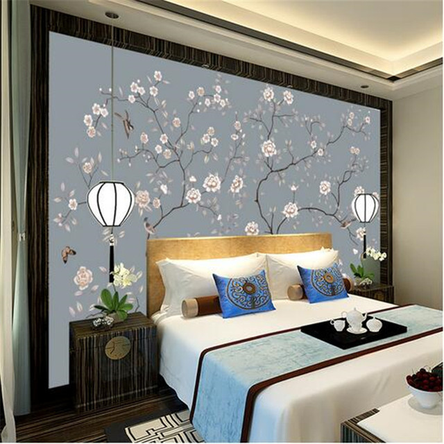 Wallpapers Youman Custom Painting Murals Wallpaper Bed Room Picture Hand Painted Bird Sofa Tv Background