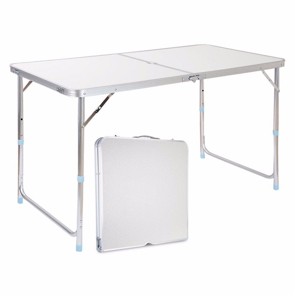 Online Shop Finether Folding Outdoor Table Ultralight Height Adjustable  Aluminum Portable Table For Dining Picnic Camping BBQ Party Camping |  Aliexpress ...