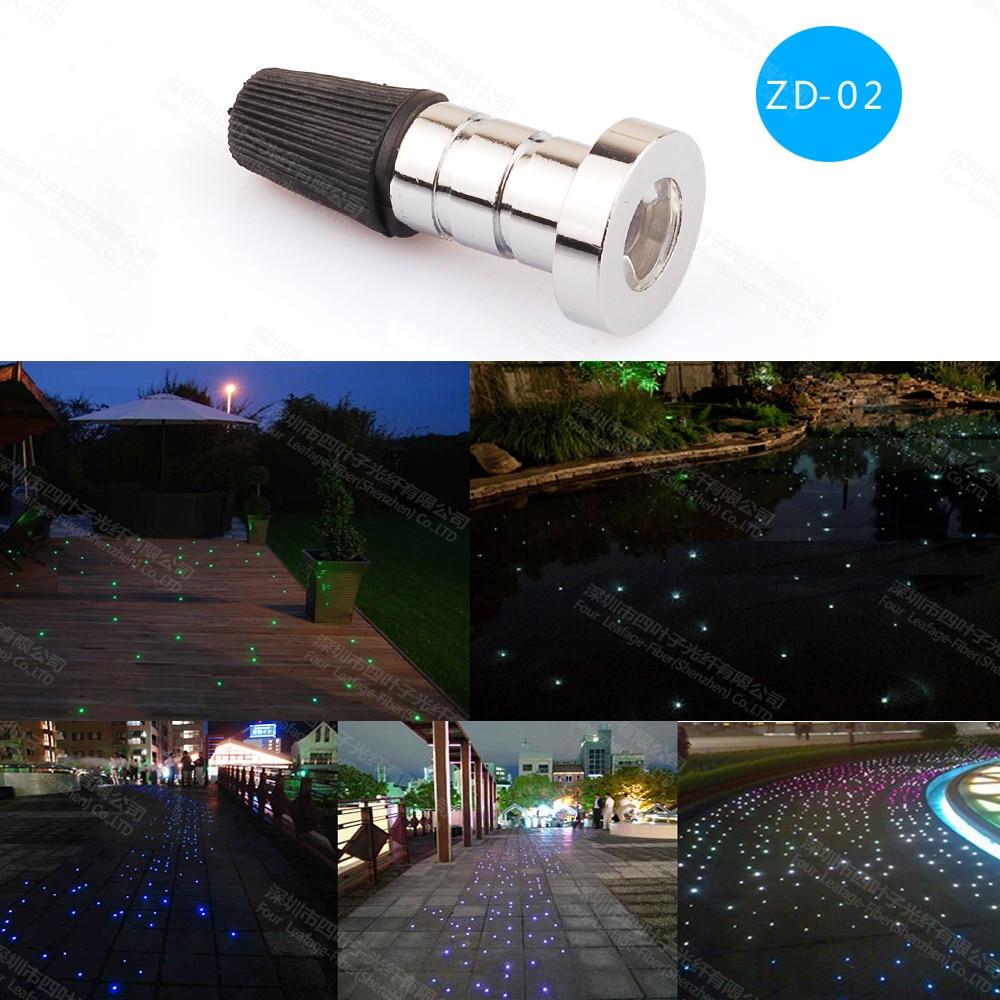 A ZD-02 uszodában vezetett optikai szálas optikai süllyesztett - Kereskedelmi világítás