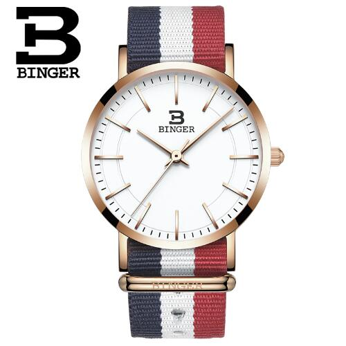 Switzerland BINGER Sports Woman Watches 2017 ultrathin limited edition Wristwatches For Girl Gold Thin Watch enterprise asset management for dummies custom logica limited edition