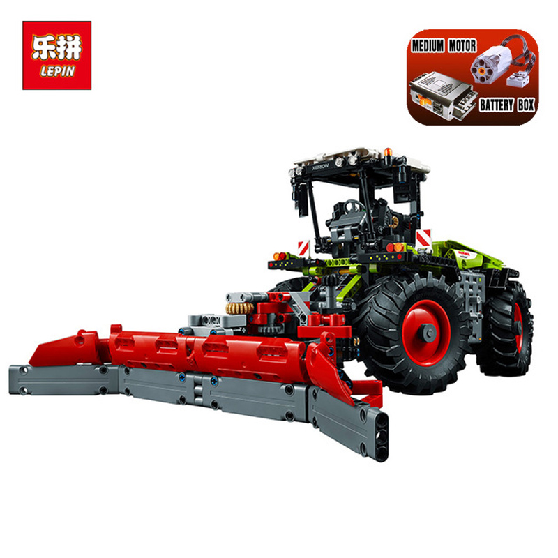 In Stock DHL Lepin Set 20009 1977Pcs Technic Figures tractor Model Building Kit Blocks Bricks Educational Toy Gift 42054 in stock dhl lepin set 21010 914pcs technic figures speed champions f14 model building kits blocks bricks educational toys 75913
