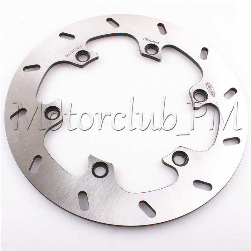 6 Holes Rear Brake Disc Rotor For Suzuki Hayabusa GSXR1300 2008-2015 09 10 11 B-KING 1300 2008-2010 2009 Motorcycle Bicycle Pads