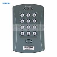 DIYSECUR 125KHz Door RFID Keypad Proximity Reader Access Controller System + 10 Free Key Fobs Brand NEW