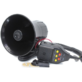 Multi - tone ลำโพงปลุก horn super loud 12 V รถลำโพง Loud Alarm Siren Horn 105-115db พร้อมไมโครโฟนไมโครโฟนสำหรับรถบรรทุกอัตโนมัติ