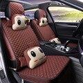Высокое качество принцесса серии автомобиля подушки сиденья Four seasons лен мультфильм симпатичный автомобиль seat covers женщины авто GFHT