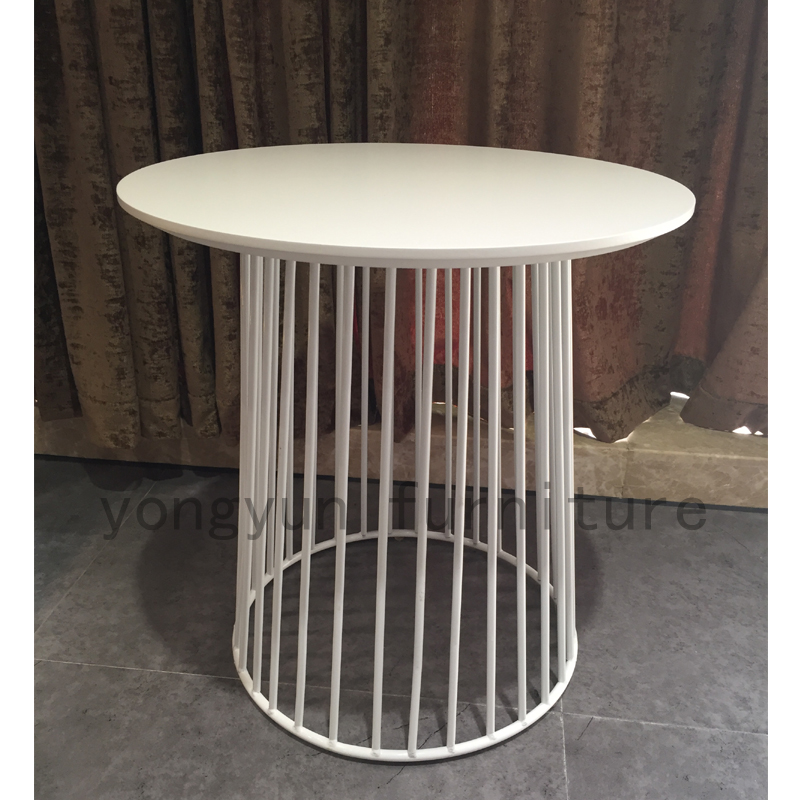 modern Minimalism Europe Storage Side Table multifunction coffee Table Loft Cafe Side Table Metal wire Storage Round Tea Table-in Coffee Tables from ... & modern Minimalism Europe Storage Side Table multifunction coffee ...
