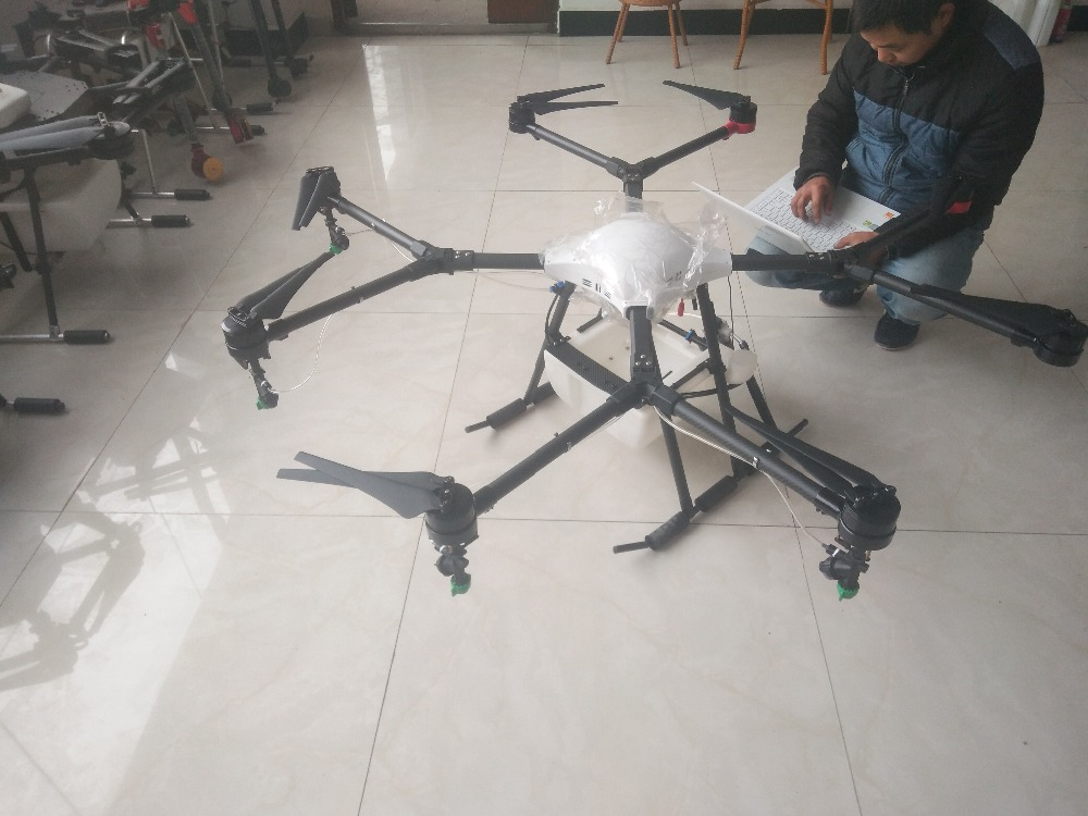 10KG 10L 8 axis Agricultural font b Drone b font multi axis Agricultural protection UAV