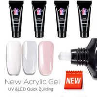 Vernis à ongles 3 couleurs 15ml vernis à ongles pour Extension d'ongle Gel UV LED