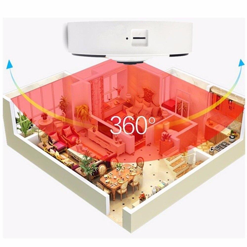 Kruiqi Home Security 1.3MP IP Kamera Wireless WiFi Panoamic IP Kamera Überwachung 960 p Nachtsicht CCTV Baby Monitor 1280*960 - 2