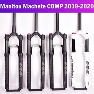 Image 1 - אופניים מזלג Manitou המקצץ Comp מארוול 27.5 29er גודל אוויר מזלגות הרי MTB אופני מזלג השעיה שמן וגז מזלג SR SUNTOUR
