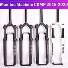 자전거 포크 manitou machete comp marvel 27.5 29er 크기 에어 포크 마운틴 mtb 자전거 포크 서스펜션 오일 및 가스 포크 sr suntour