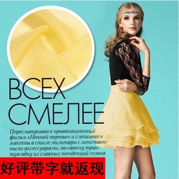 Solid color silk organza yarn fabric crisp silk fabric for dress transparent silk organza fabric wholesale silk cloth