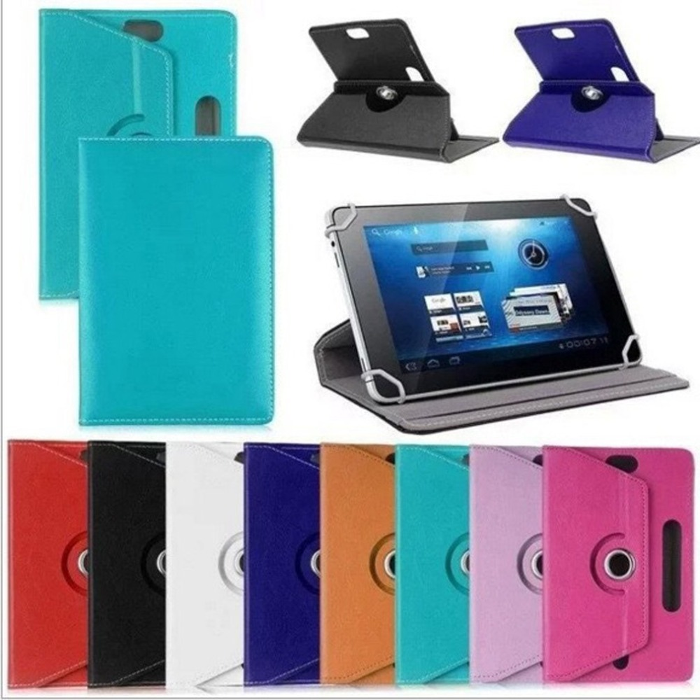 7 inch 8 inch 9 inch 10 inch flat crystal pattern protective tablet universal leather
