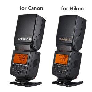Image 4 - YONGNUO YN 568EX YN568EX III III אלחוטי TTL HSS פלאש Speedlite עבור DSLR Canon ניקון מצלמה תואם YN600EX RT השני YN568EXII