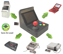 цена на Retro Mini Handheld Arcade Game Console Built-in 520 Games with TF Card Slot for GBA for Snes for Nes for Sega Megadrive Games