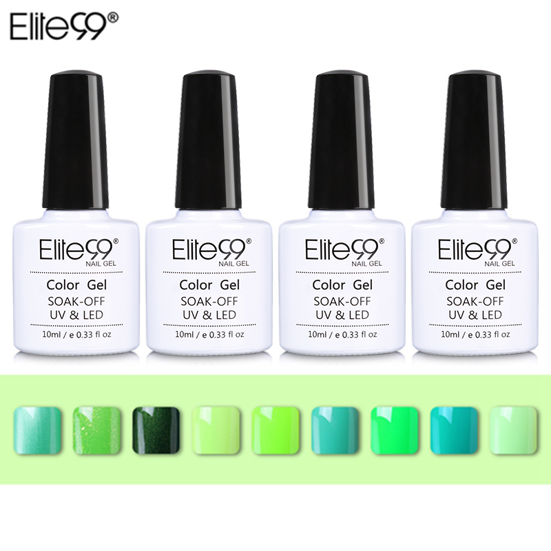 c4bae3f0efca Товар Elite99 10ml Soak Off Green Series Nail Gel Polish Gorgeous ...