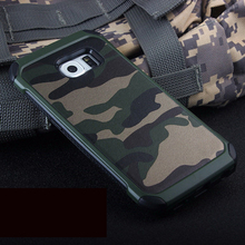 Army Camo Camouflage Pattern back cover TPU Armor Anti-knock protective case For Samsung Galaxy S5 S6 S7 Edge & S 6 Edge Plus x pattern protective tpu back case for samsung galaxy note ii n7100 white