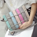 2017 women's handbag messenger  female small woven bag day clutch personality shoulder bag