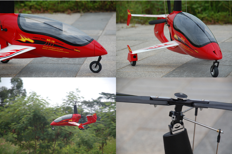 Unique Model AC10 RC Gyrocopter PNP-in RC Helicopters from Toys