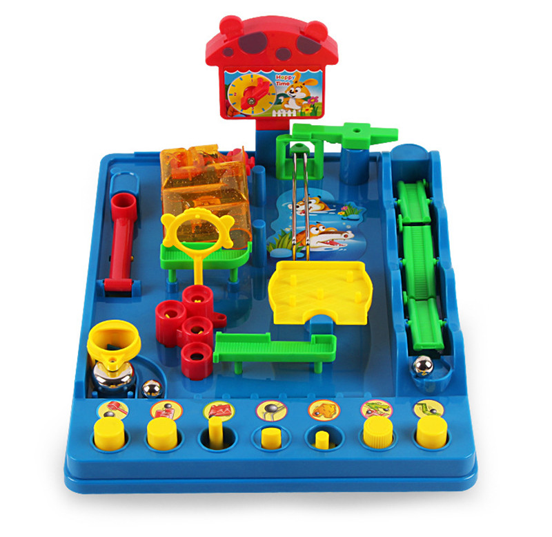 Hot Sales Waterpark Paradise Adventures Desktop Board Games Novelty Gags Practical Jokes For Kids Children Educational Toys