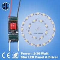 100x 7w 9w 12w 15W 18W 21W 24W 30W 36WLED Star High Power Led Chip Board