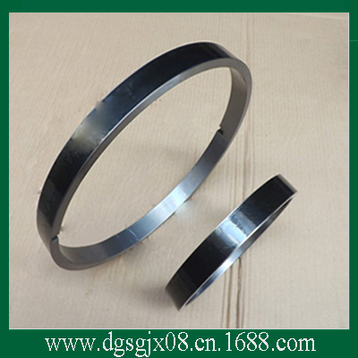 Drawing steel ring for  bare copper wire drawing    surface spraying ceramic middle wire drawing machine copper wire drawing parts tungsten carbide coated 45 steel ring steel rim