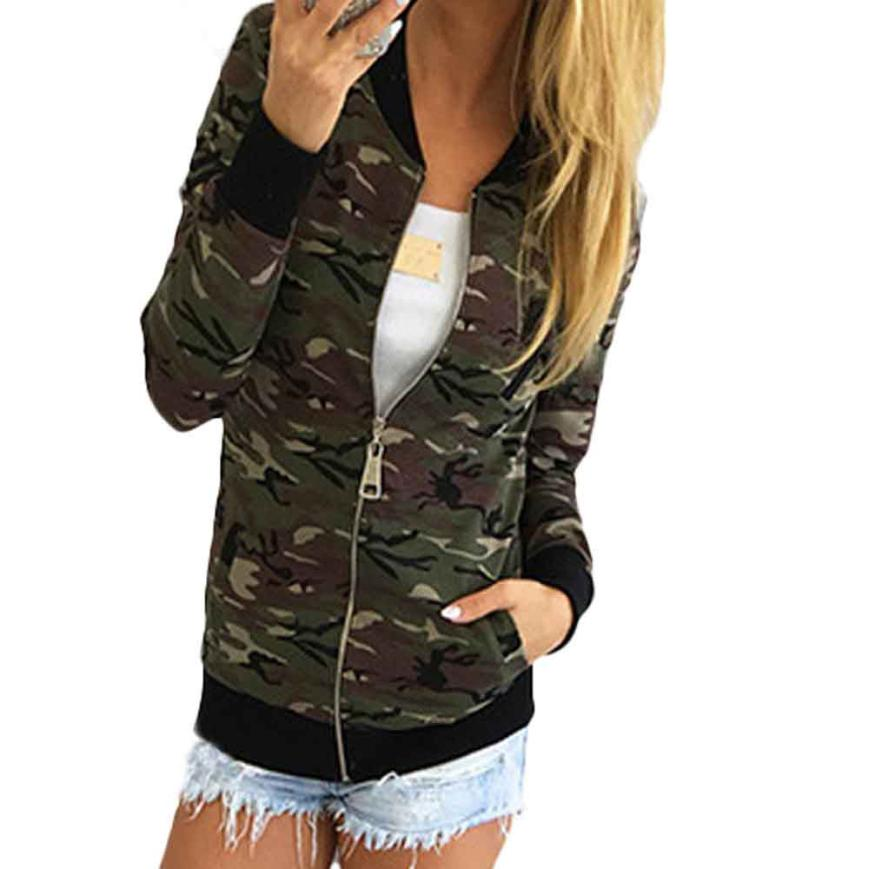 # Vestido 2017 Korean Casual Esporte Camouflage Coat Autumn Warm Winter Street Jacket Women Ropa Mujer Jaqueta Feminina17