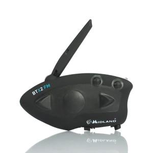 Image 3 - 2 sztuk MIDLAND BTX2 kask motocyklowy z bluetooth zestaw słuchawkowy domofon FM motocykl BT domofon odbieranie bez użycia rąk 800M