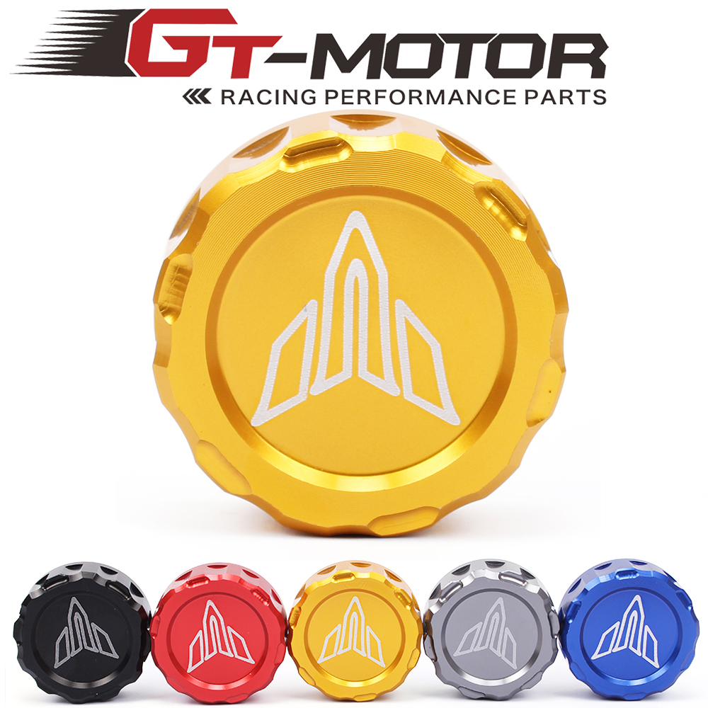 GT Motor-free shipping CNC  Cylinder Reservo Rear brake reservoir cover caps For Yamaha MT07  2014-2016 คอ ท่อ msx sf ราคา