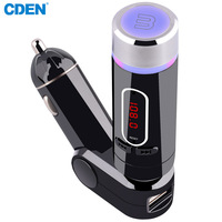 High Quality Car MP3 Player Bluetooth FM Transmitter Cigarette Lighter USB Charge FM Modulator With Remote