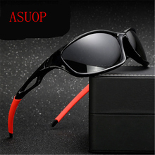 ASOUZ 2019 new polarized mens sunglasses UV400 fashion square ladies classic brand design glasses driving