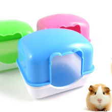 Plastic pet hamster bedroom Can be fixed bed small animal hamster cage nest free shipping