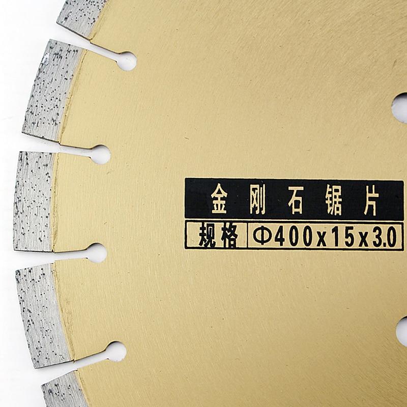 """400 * 16 * 3 mm """"Sharp King"""" kelio pjovimo diskas 16 colių - Ašmenys pjūklams - Nuotrauka 2"""