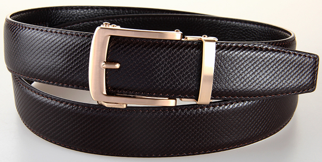 Grade Textura de Couro genuíno Buraco Belt Correias dos homens Pin Fivela de Cinto de Cowboy Moda Alongar Cinta Para Calças Jeans