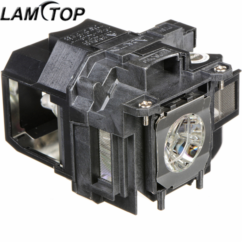 LAMTOP ELPLP77 replacement compatible bulb with housing PowerLite 4650 4750W 4855WU G5910 EB-4550 projector lamp