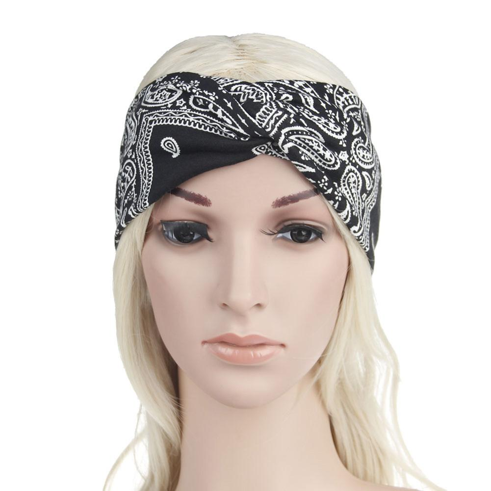 Bohemian Style Hair Band Boho Printing Pattern Headband Hairband Women Girls Soft Hair Decor Headwear High Quality And Inexpensive
