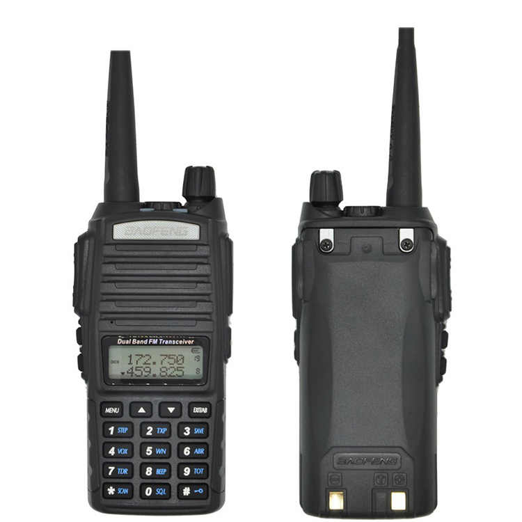 2020 cb equipos de radio de la policía 8W Baofeng Uv-82 más UV82 estación de Radio-aficionado transceptor uhf, vhf radio Walkie Talkie 10km