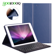 For iPad Air 2 1 Keyboard Case for iPad 2018 9 7 Carbon Fiber PU Leather
