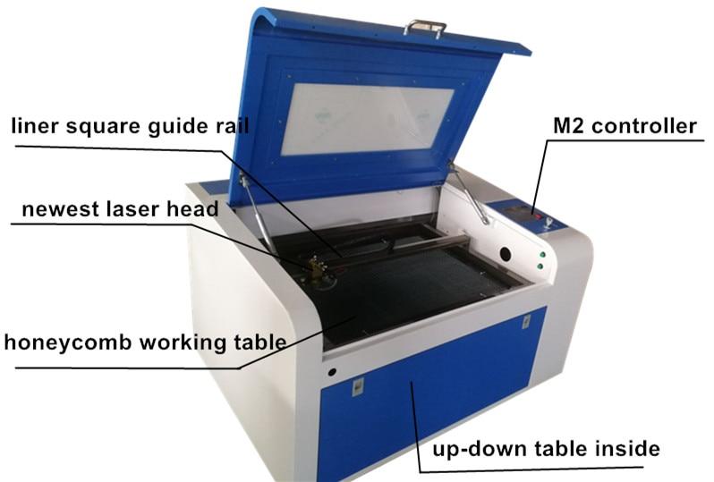 HTB1wLXAXIrrK1Rjy1zeq6xalFXam - 2018new type CNC laser cutting machine/laser engraver/CO2 laser cutter 4060/6040 for wood plywood engraving machine DIY