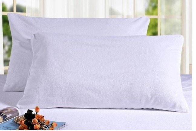 king size pillow case wholesale cotton terry zippered waterproof pillow protector  king size pillow case