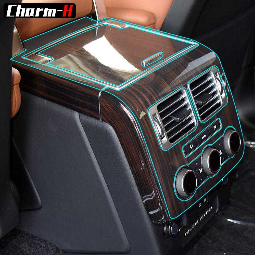 Sticker For Range Rover Sport Transparent Promotion Tpu: Transparent TPU Film Console Panel Protective Vinyl Wrap