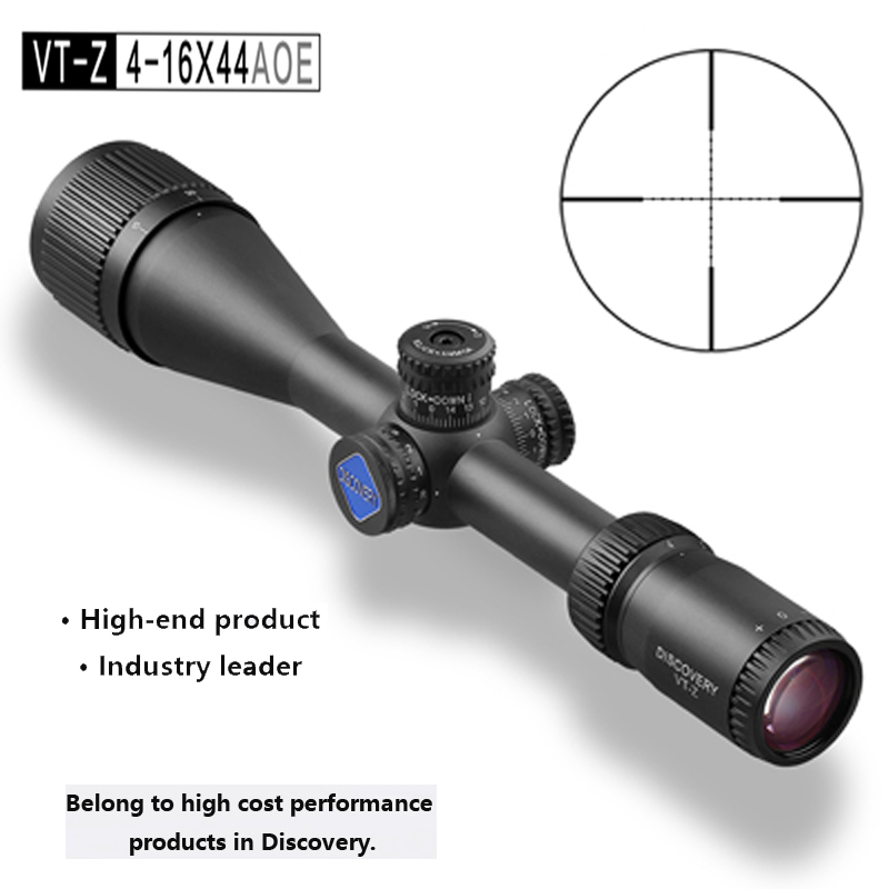 2017 Riflescope Discovery VT-Z 4-16X44AOE Optic Outdoor Sight Hunting Rifle Monocular telescope Reticle Gun Accessory discovery vt t 4 5 18x44sfvf white leters reticle side shooting hunting riflescope rangefinder for airsoft air guns