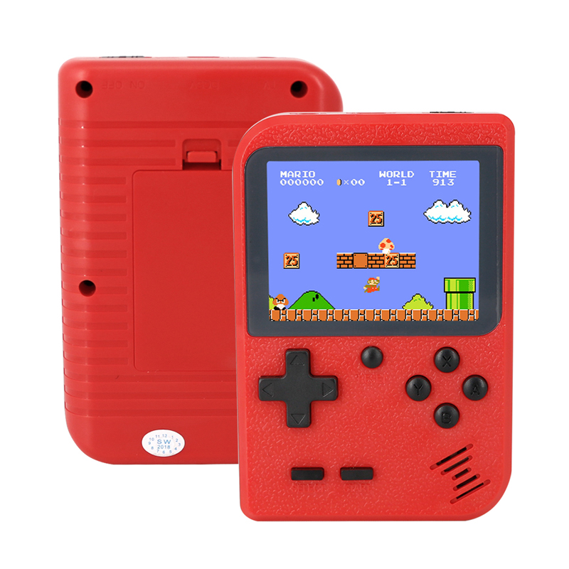 Brand Portable Handheld Retro GamePad Console Players Box TV AV OUT within 400 Games for Child BOY Gift Adults
