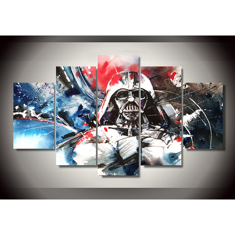 Star Wars Living Room Art: Aliexpress.com : Buy Wall Modern Framework Art Poster Home