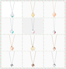 Original TIFF1:1 S925 Sterling Silve Spray Heart Colours Double Tag Love key Series Necklace Women Charm Jewelry